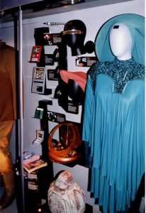 Guinan's costume and STNG props
