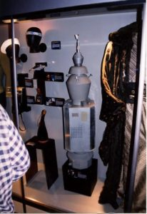 Various props including Nomad from the original series